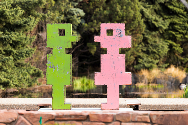 Denver Botanic Gardens - Mike Whiting - Pinkie and Mr. Green